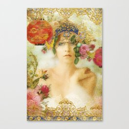 The Summer Queen Canvas Print