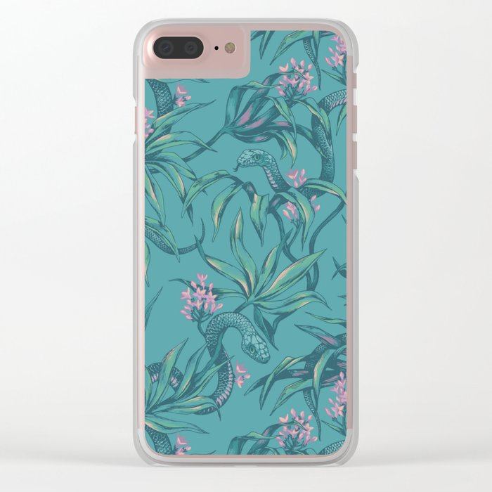 Mamba! in pastel tones Clear iPhone Case