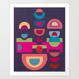 Colorplay G. 1 Art Print