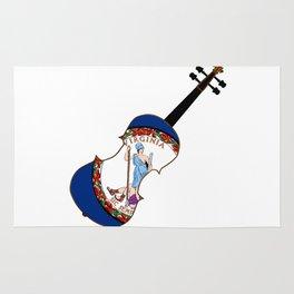 Virginia State Fiddle Rug