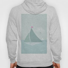Peaceful seascape with sailboats Hoody
