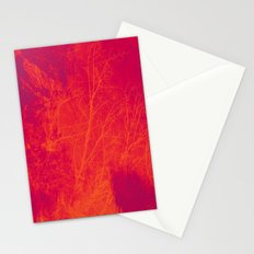 Saturated Branches Stationery Cards