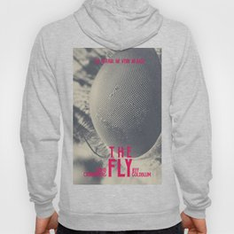 The Fly, horror movie poster, David Cronenberg, Jeff Goldblum, alternative playbill Hoody