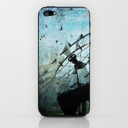 Silent Wind iPhone Skin