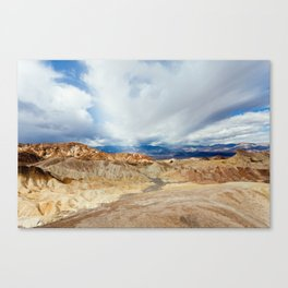Mountains of Death Valley Canvas Print