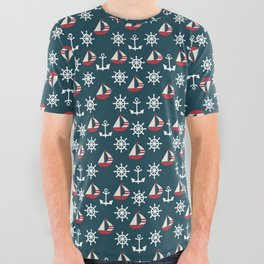 Shipped All Over Graphic Tee