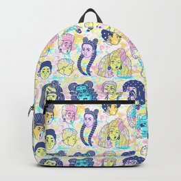 Your hair is cute! Backpack