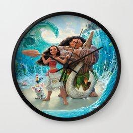 Moana 2 Wall Clock
