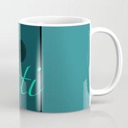 Shanti Blue Coffee Mug