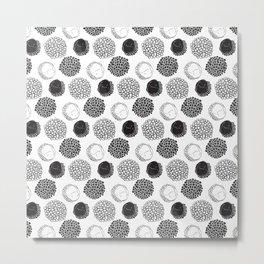 Exotic circles Metal Print