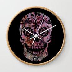 Rachel's Skull Wall Clock