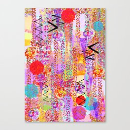 Dance Dots Canvas Print