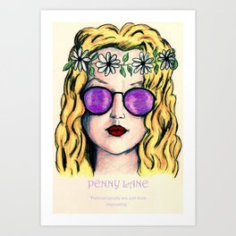 PENNY LANE - ALMOST FAMOUS Art Print
