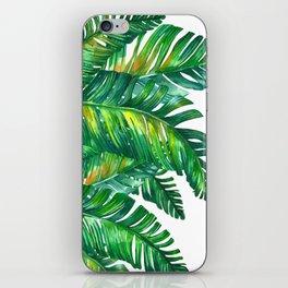 tropical green 2 iPhone Skin