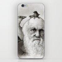 darwin iPhone & iPod Skins featuring Darwin by Doodle of Boredom