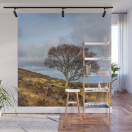 Hillside tree Wall Mural