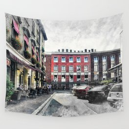 Cracow art 4 Kazimierz #cracow #krakow #city Wall Tapestry