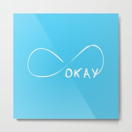Fault In Our Stars - Okay Metal Print