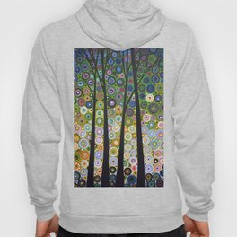 Abstract Art Landscape Original Painting ... Falling Light Hoody