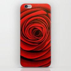 Red 1 iPhone & iPod Skin