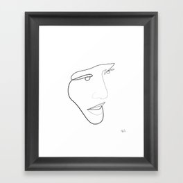Miki Framed Art Print