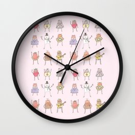 nine lives Wall Clock