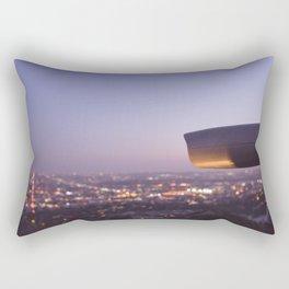 Angel City Lights, L.A. at Night, No. 3 Rectangular Pillow