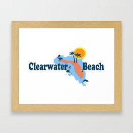 Clearwater Florida. Framed Art Print