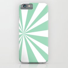 Mint Starburst iPhone 6s Slim Case
