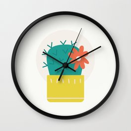 Cactus Collection 03 Wall Clock