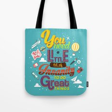 Art and Insanity Tote Bag