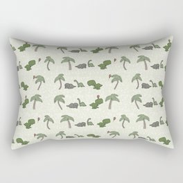 The Dinosaurs Are Alright Rectangular Pillow