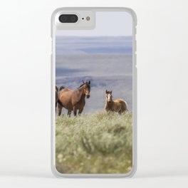 On the Mountain Clear iPhone Case