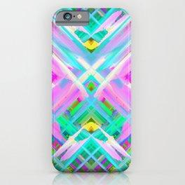 Colorful digital art splashing G473 iPhone Case
