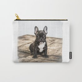 French bulldog puppy Carry-All Pouch