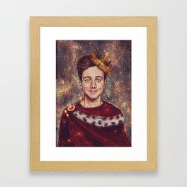 His Royal Highness Framed Art Print