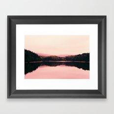 Bar Harbor Reflection Framed Art Print
