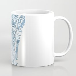 Philadelphia City Map Coffee Mug