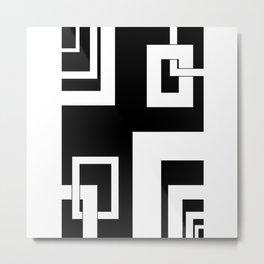 4.2 - frames - black background Metal Print