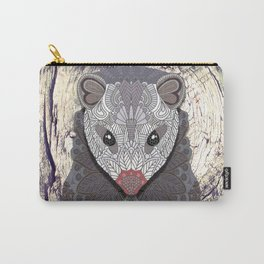 Ornate Opossum Carry-All Pouch