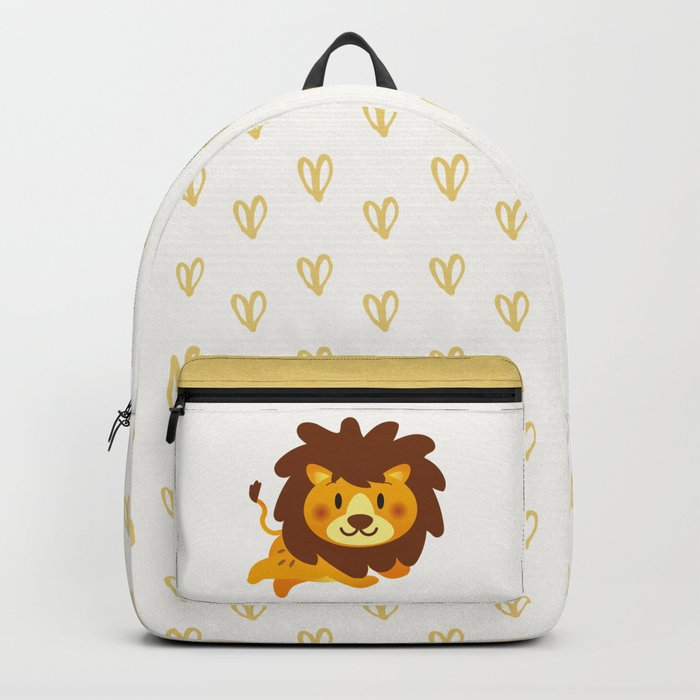 Cute Lion Backpack