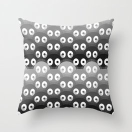susuwatari pattern Throw Pillow