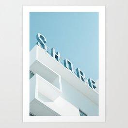 Art Deco Miami Beach #1 Art Print