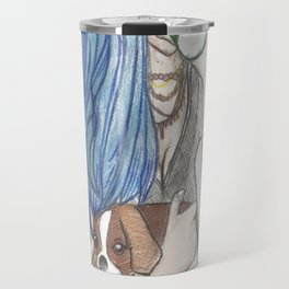 coffee girl Travel Mug