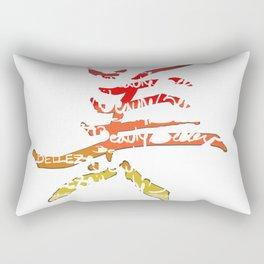 belleza japones Rectangular Pillow