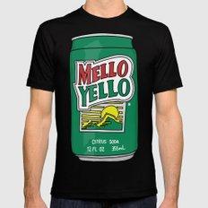 Mello Yello Black Mens Fitted Tee MEDIUM