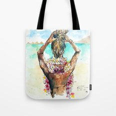 Bora Bora Lei Tote Bag