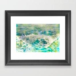 Milk Surf Framed Art Print