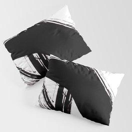 Abstract Wall art, Abstract Print, Black White Abstract Print, Black White Art, Minimalist Print, Ab Pillow Sham
