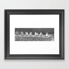 Hot Dam Framed Art Print